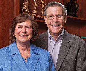 Ed and Carol Diener.