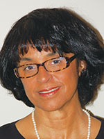This is a photo of APS Board Member Sandra Graham.
