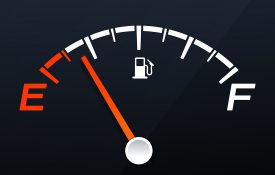 Empty Gas Tank Gauge