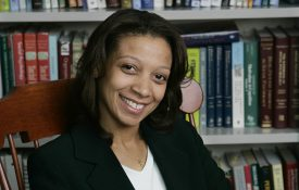 Jennifer Richeson, PhD, Associate Professor of the Department of Psychology and Faculty Fellow, IPR of the Institute for Policy Research at Northwestern University is a MacArthur Grant Winner for 2006.  (Photo/Aynsley Floyd)
