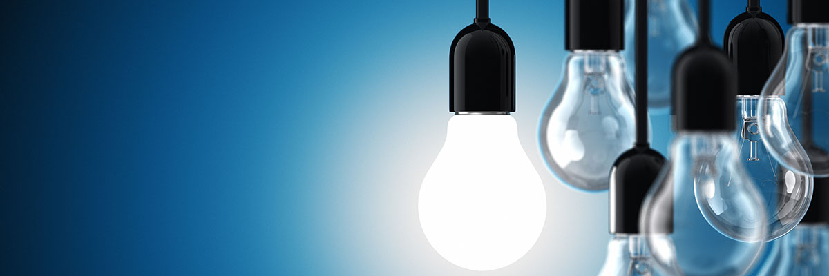 This is a photo of light bulbs.