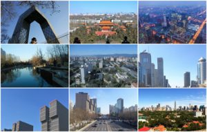 Nonpolluted scenes from Beijing