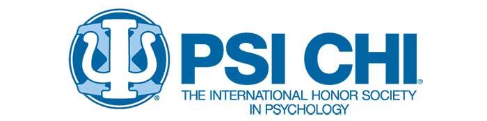 Psi Chi Logo APS Convention Sponsor