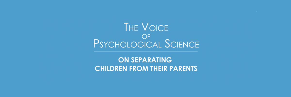The Voice of Psychological Science