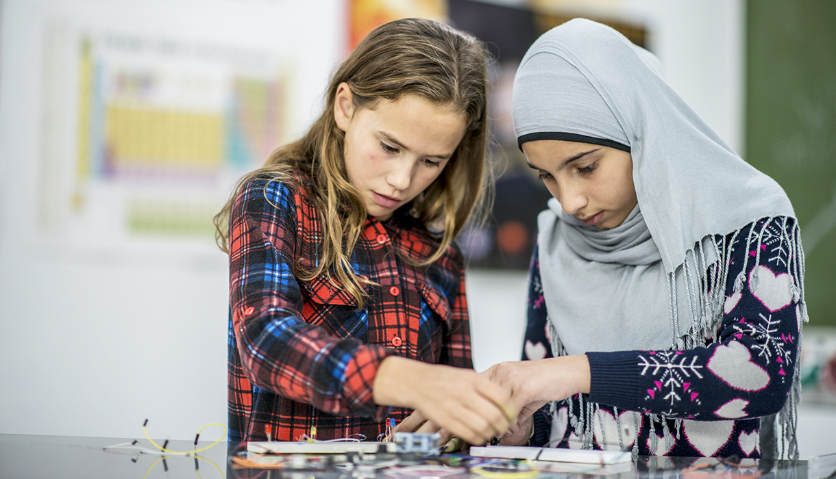 """Girls Are More Engaged When They're """"Doing Science"""" Rather Than """"Being Scientists"""""""
