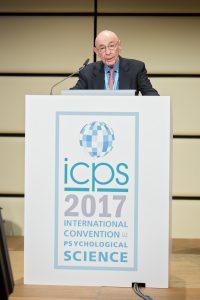 Walter Mischel Speaking at ICPS
