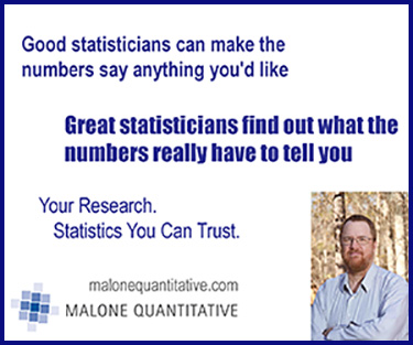 Malone Quantitative Advertisement