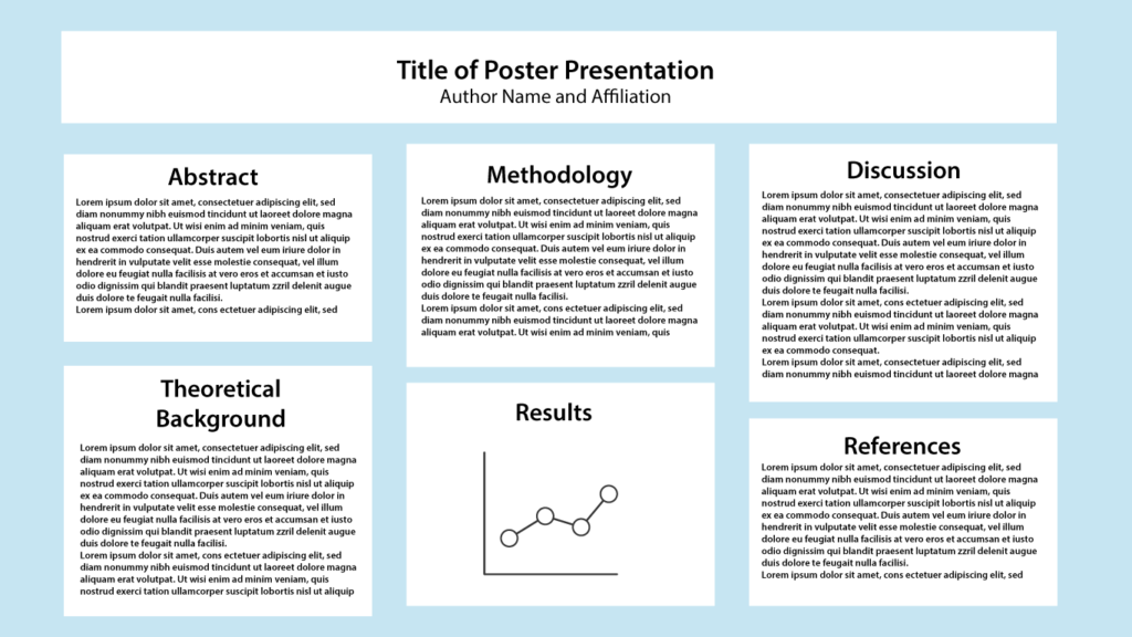 Sample Poster Configuration for Virtual Poster