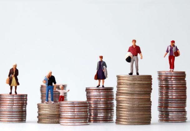 Sharing economy and wealth disparities