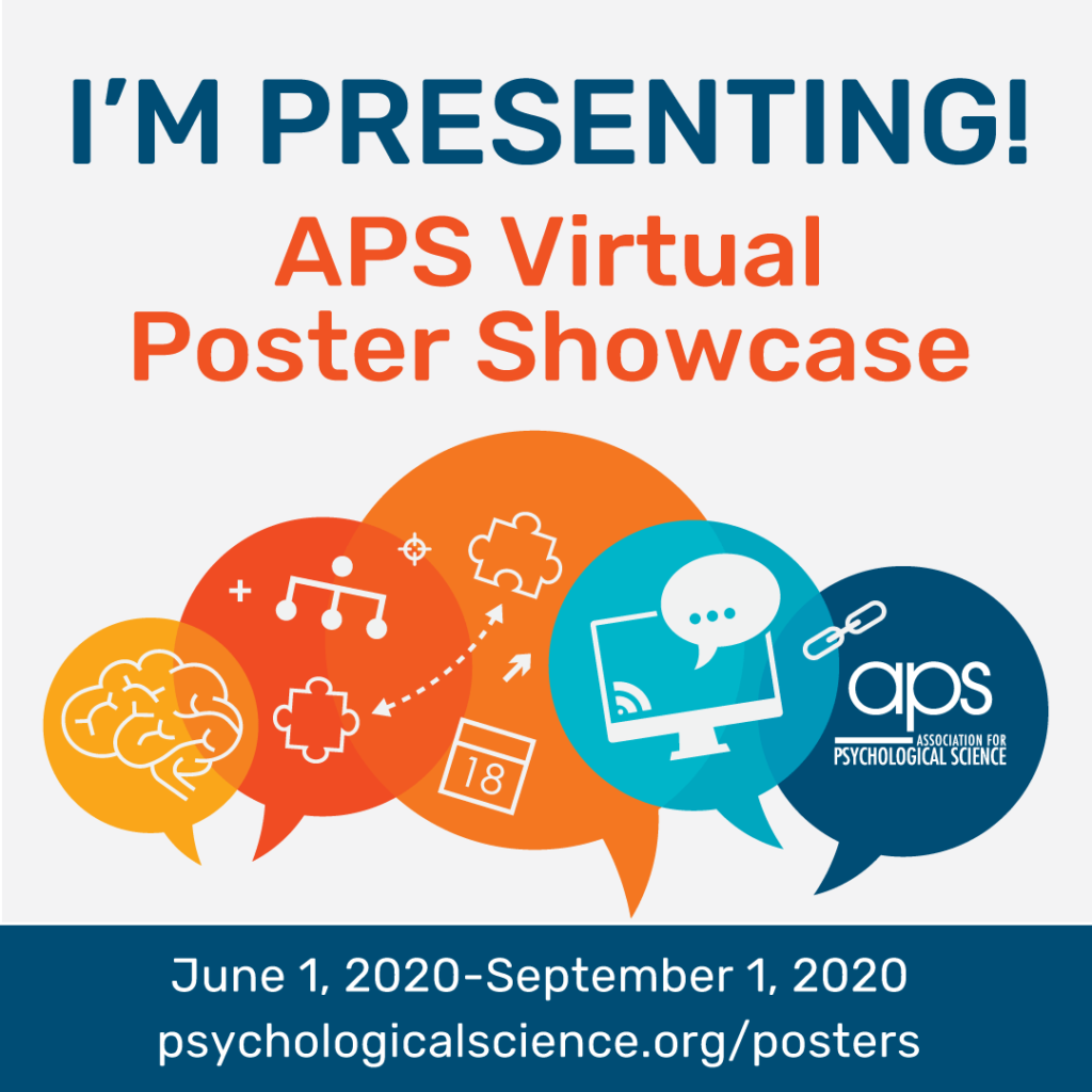 I'm Presenting at APS 2020 Instagram Image